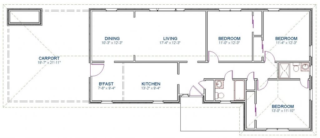 Existing Plan before Renovations