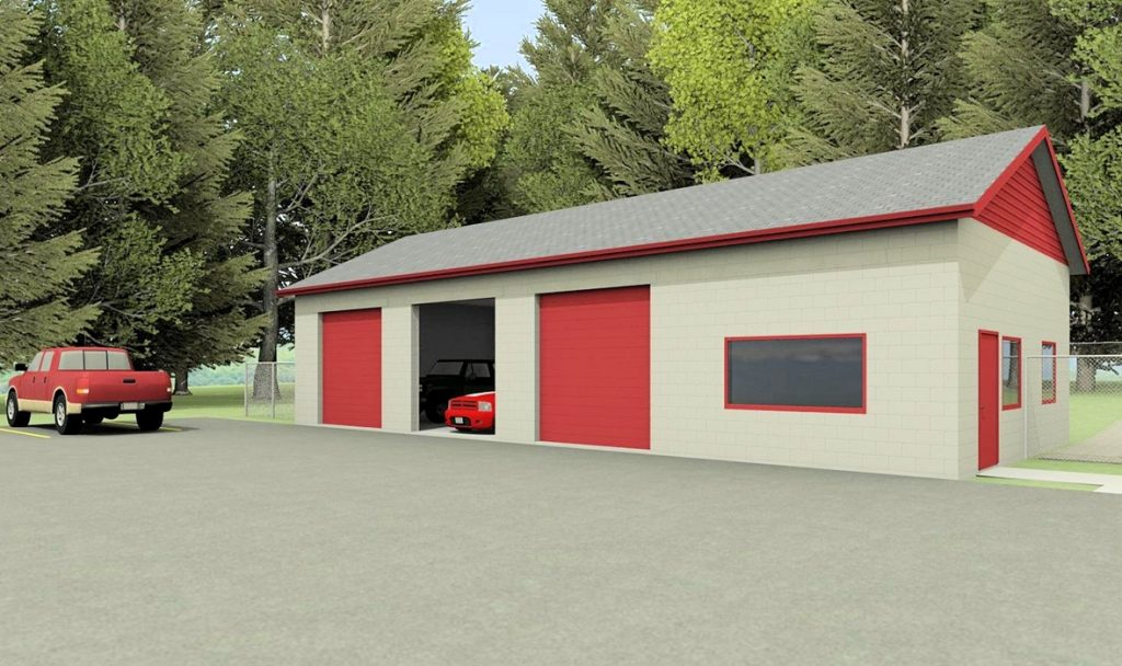 Wjm designs commercial and residential drafting and designs for Commercial garage plans